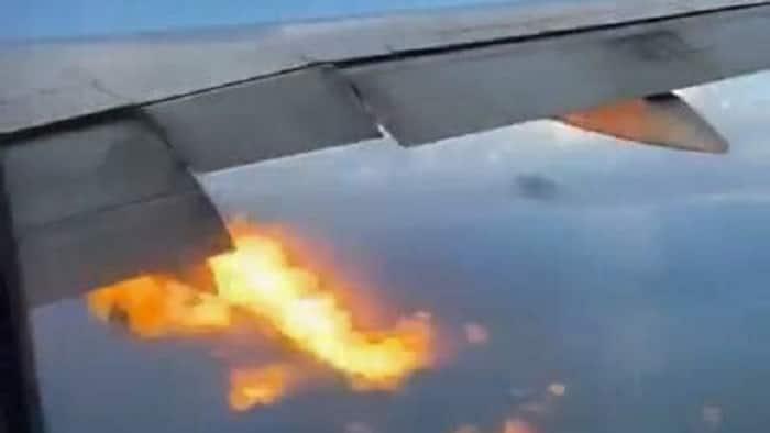 Actual video footage ng PAL flight na nagbuga ng apoy sa ere, viral na