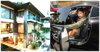 Sosyal talaga! Ang mga bigating sports car at mansion ni Manny Pacquiao