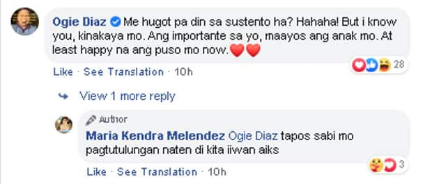"""Aiko Melendez posts """"hugot sustento"""" as she remembers independence from Jom, Ogie Diaz reacts"""