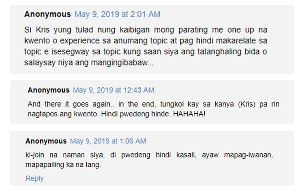 Kris Aquino gets criticized due to her reaction to Mariel Padilla's Malacañang experience