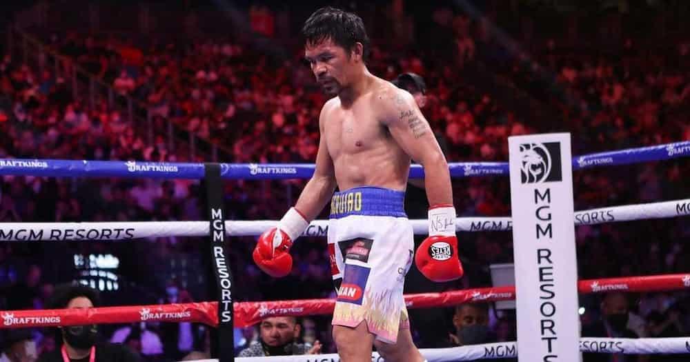 Manny Pacquiao, pinulikat pala sa kasagsagan ng laban kay Yordenis Ugas kaya nahirapan sa leg work