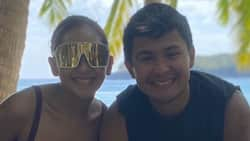 Matteo Guidicelli celebrates his birthday with Sarah Geronimo and his family in Palawan