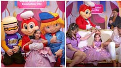 Scarlet Snow Belo celebrates her 4th birthday in a Fairy tale land theme