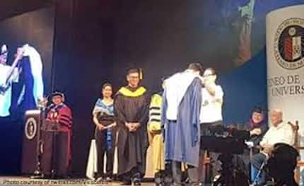 Coney Reyes proud of son Vico Sotto for finishing Master's degree with honors