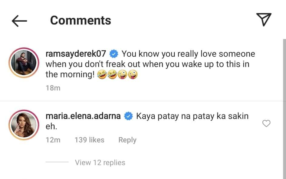 Derek Ramsay posts unfiltered sleeping photo of Ellen Adarna; actress reacts