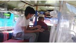 Frontliner, naantig ang puso nang isauli ng jeepney driver ang kanyang pamasahe