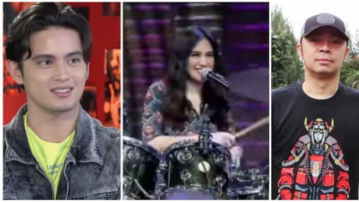 """Chito Miranda, other celebs react to video of Julie Anne San Jose singing while playing drums: """"hayup 'to"""""""