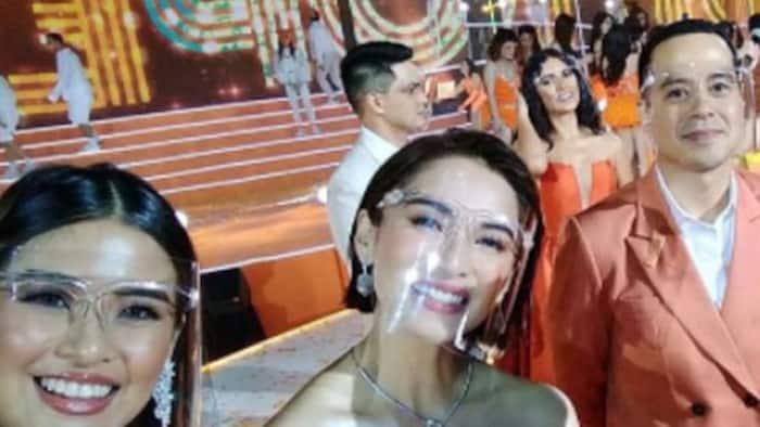 Jennylyn Mercado happily welcomes John Lloyd Cruz to GMA
