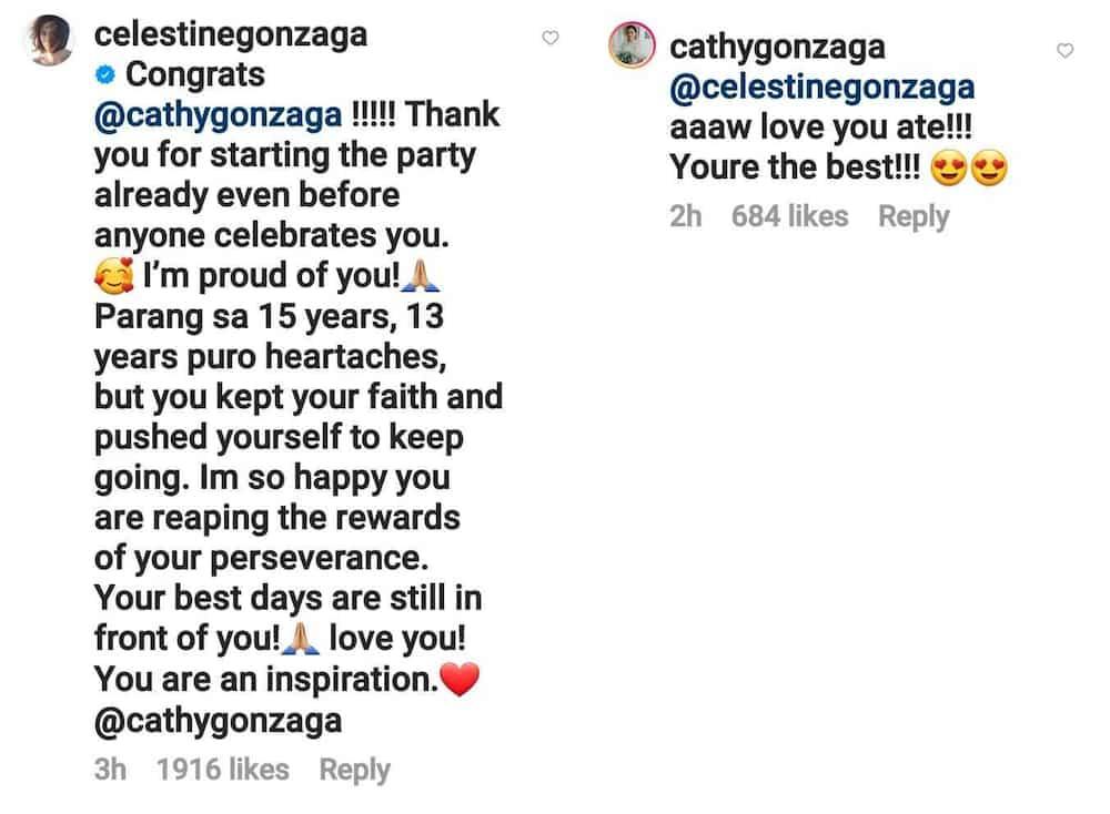 "Toni Gonzaga on Alex's 15th showbiz anniversary: ""13 years puro heartaches"""