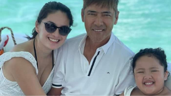 Vic Sotto's hilarious English conversation with his smart daughter Tali goes viral