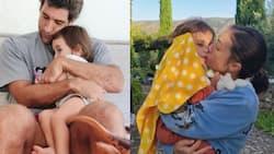 Baby Thylane Bolzico's lip got stung by a bee; netizens react
