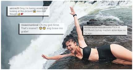 Anne-kabogable talaga! Anne Curtis, pinabilib ang netizens sa kanyang buwis-buhay photo