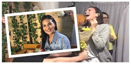 Happy and blessed bride-to-be! Iza Calzado received the sweetest surprise from her Ngayon at Kailanman family