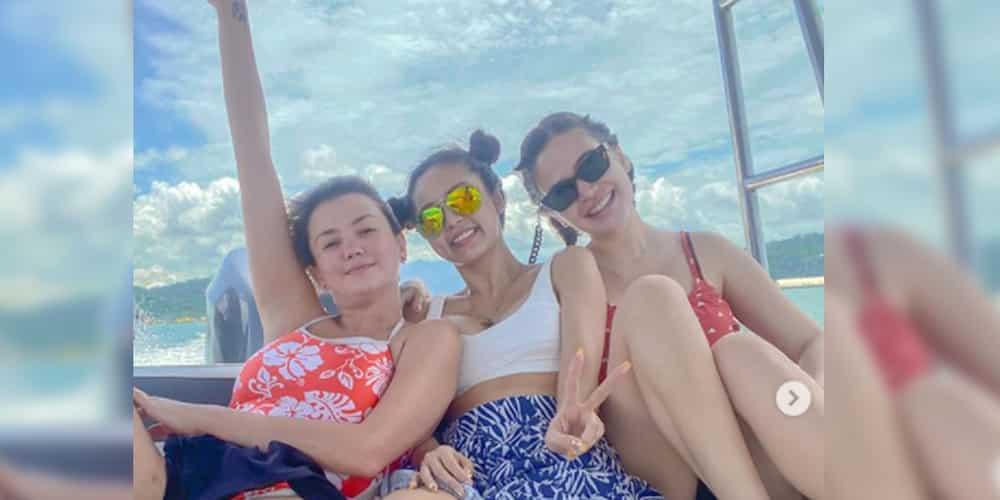 Kim Chiu, Bela Padilla and Angelica Panganiban, celebrate strong friendship in Subic