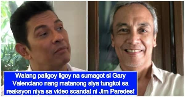 Gary Valenciano Reacts To Jim Paredes' Video Scandal