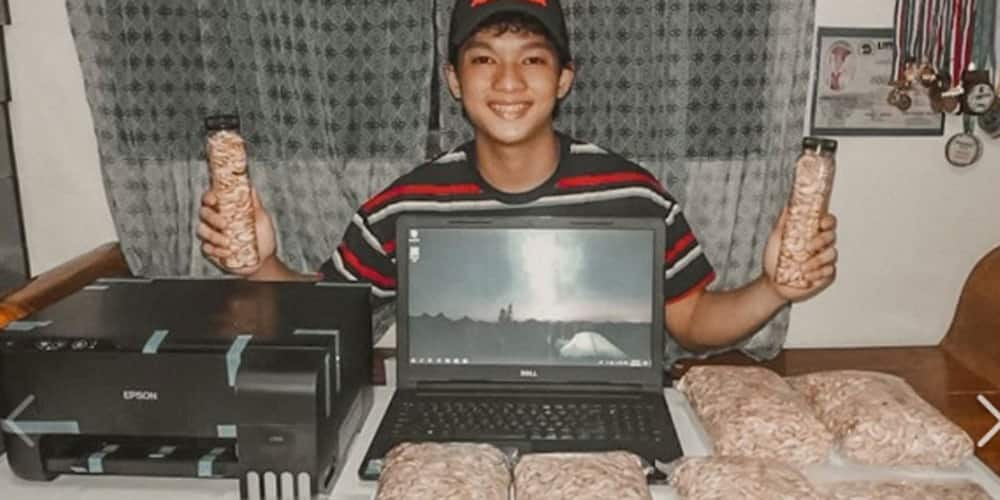 Grade 10 UP high school student sells cashew to buy gadgets he needs for online classes