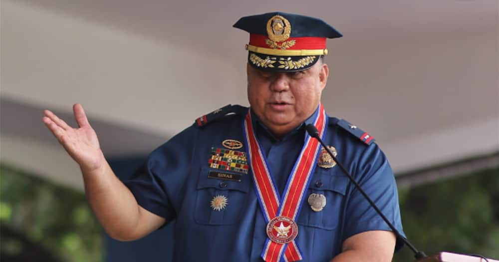 Gen. Sinas allegedly seen at a Christmas party; PNP chief says it's fake news