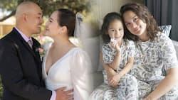 Melissa Ricks, sinagot ang netizen na nakapansing wala ang anak niya sa kasal