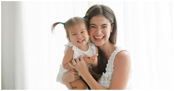Photos and videos of Dahlia helping mom Anne Curtis in preparing breakfast delight netizens