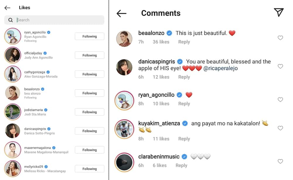 Rica Peralejo's viral online post about self-love earns praises from celebrities