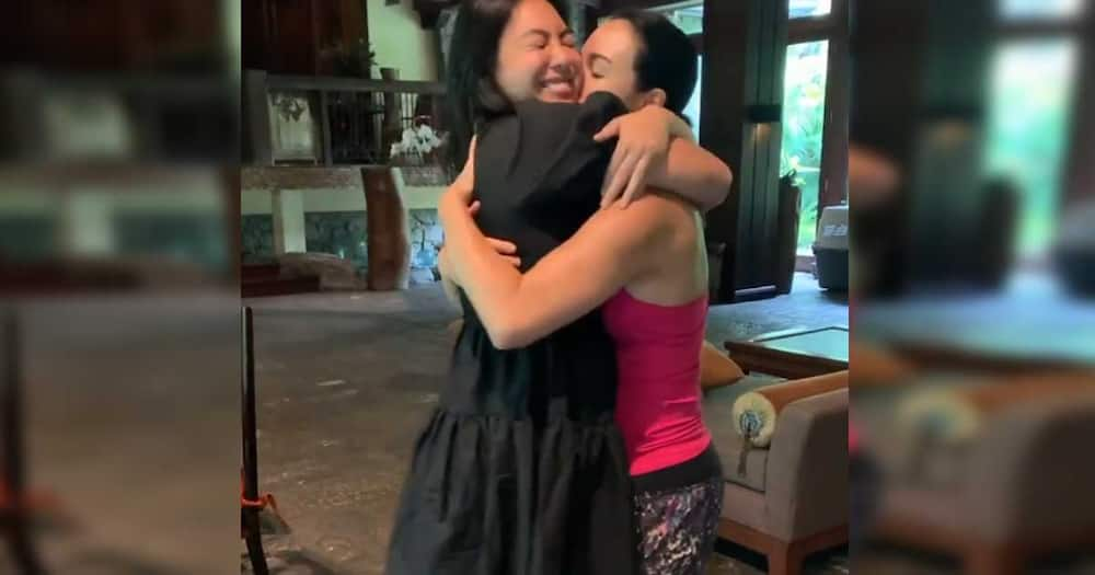 Dominique Cojuangco gifts mom Gretchen Barretto with a huge red balde on her 51st birthday