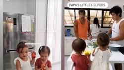 "Video nina Dahlia at Thylane bilang ""little kitchen helpers"", kinaaliwan ng netizens"
