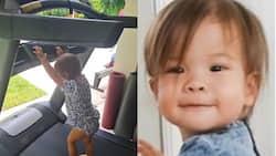 Video ni baby Dahlia Heussaff na nagte-treadmill, nag-viral