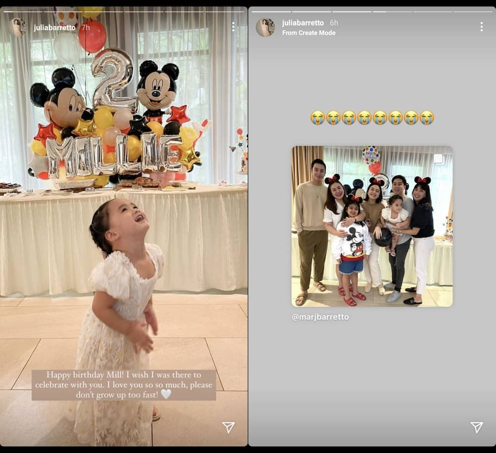 Marjorie Barretto holds 'Mickey Mouse'-themed birthday party for baby Millie