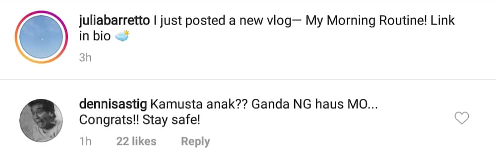 """Dennis Padilla reaches out to Julia Barretto, """"Kamusta anak, ganda ng haus mo'"""
