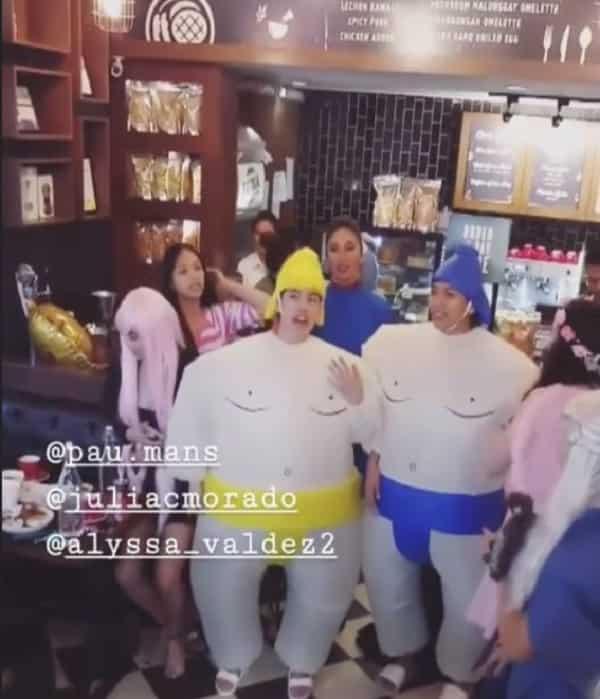 Mga Pinoy athletes, game na game ngayong Halloween