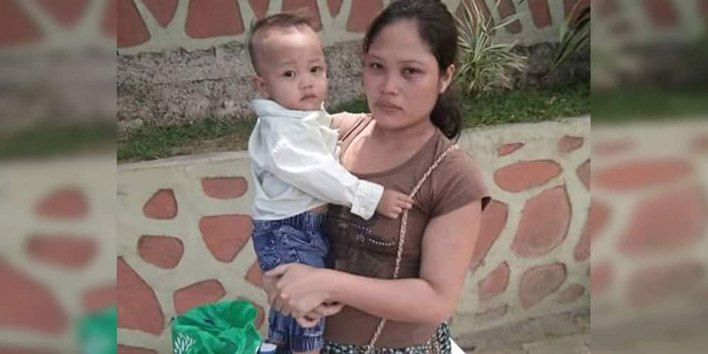 Penniless pregnant woman with baby seeks help after aunt of her husband left her, taking her meager P300
