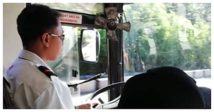 Driver, huminto at sinita ang pasaherong nagtapon ng basura sa labas ng bus