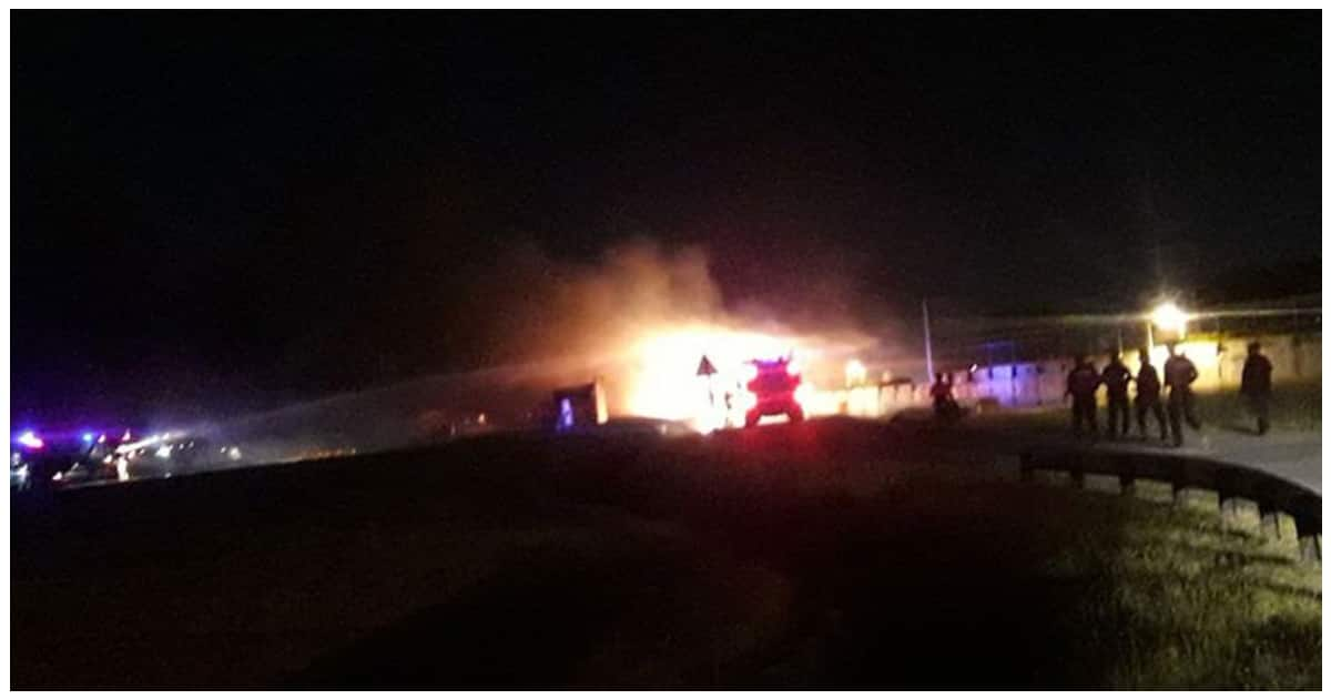 Aircraft bound to Haneda, Japan for a 'medical evacuation' caught on fire at NAIA
