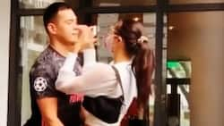 Jake Cuenca & Kylie Versoza's sweet reunion after 2 months apart goes viral