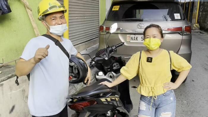 Kiray Celis, sinorpresa ng bagong motor ang kuya niyang construction worker