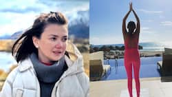 Angelica Panganiban hits back at basher's body-shaming remark on photo of her wearing pink