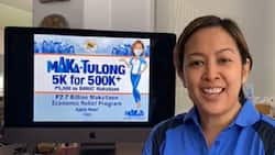 Mayor Abby Binay announces every 'Makatizen' will receive P5,000 cash aid