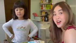 Janella Salvador gets a tip from Scarlet Snow Belo on how to eat caviar