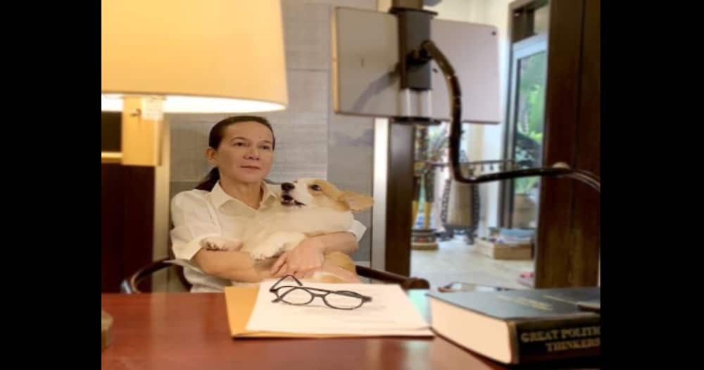 Sen. Grace Poe visits FPJ on its 16th death anniversary