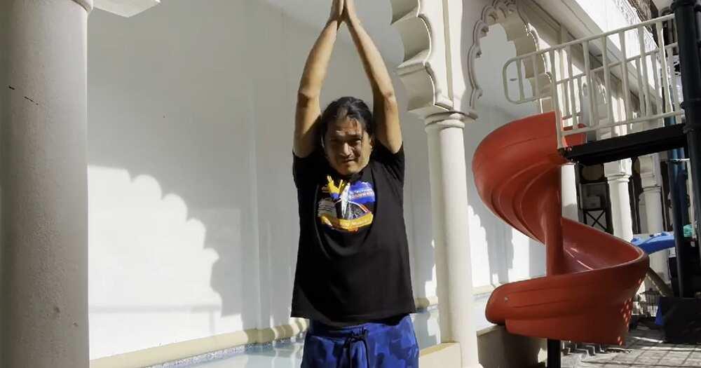 Robin Padilla, hindi pinalalaba sa kasambahay ang damit pang-exercise niya