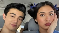 Lou Yanong responds to netizen questioning Andre Brouillette's love for her