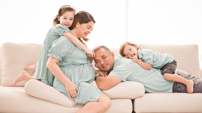 Nadine Samonte's cozy maternity photos with family gain praises