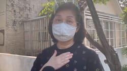 Pinky Aquino, bumalik sa puntod ni PNoy isang araw pagkatapos ng libing