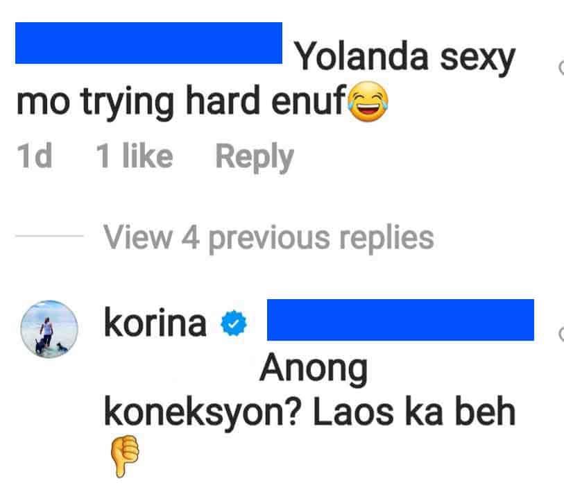 """Korina Sanchez, sinupalpal ang """"naligaw"""" na basher ng kanyang pretty photos"""