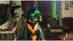 Customer, pinapasok ang delivery rider sa bahay sa takot na mahuli dahil sa curfew