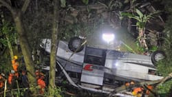 Bus with students onboard falls into ravine; 27 die from fatal crash in Indonesia