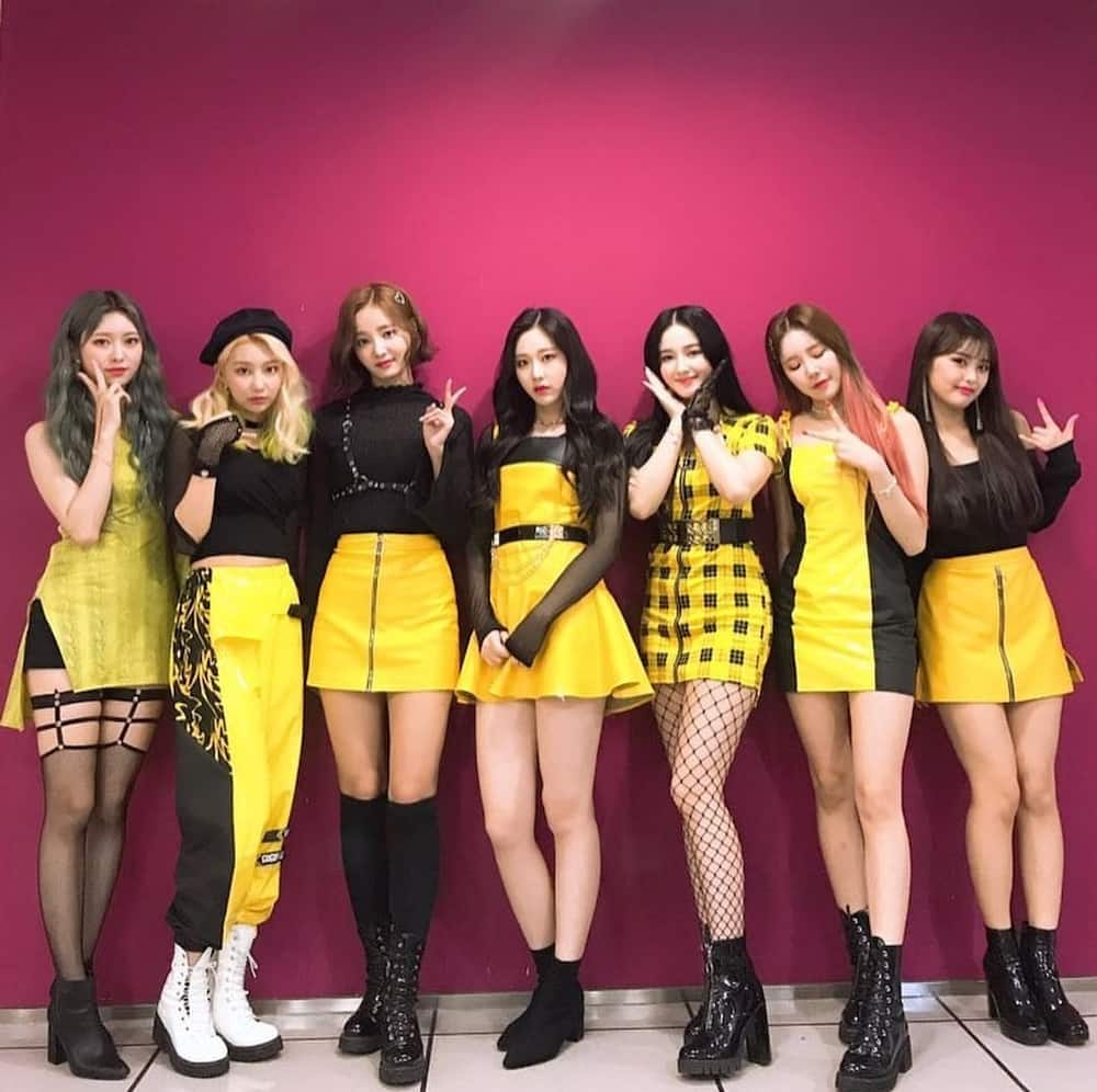 how many members are in Momoland