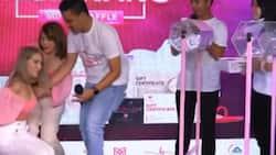 Jelai Andres, nahulog sa stage habang nag e-emcee sa isang raffle