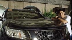 McCoy de Leon shows off his expensive brand new car