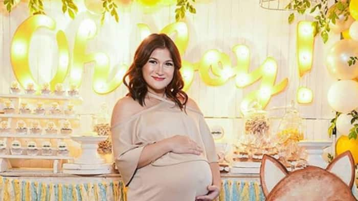 Camille Prats looks stunning in baby shower for her baby no. 3